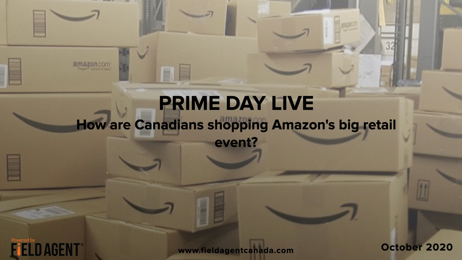Field Agent brings you Prime Day live